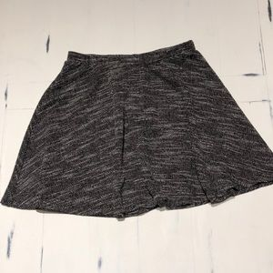 BCX White and Black Skirt